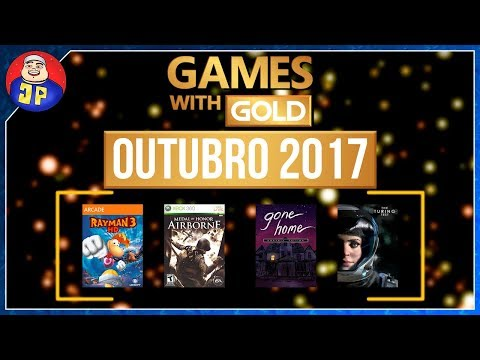 Games With Gold Outubro 2017 (Jogos com Gold) (Xbox October 2017 Games With Gold)