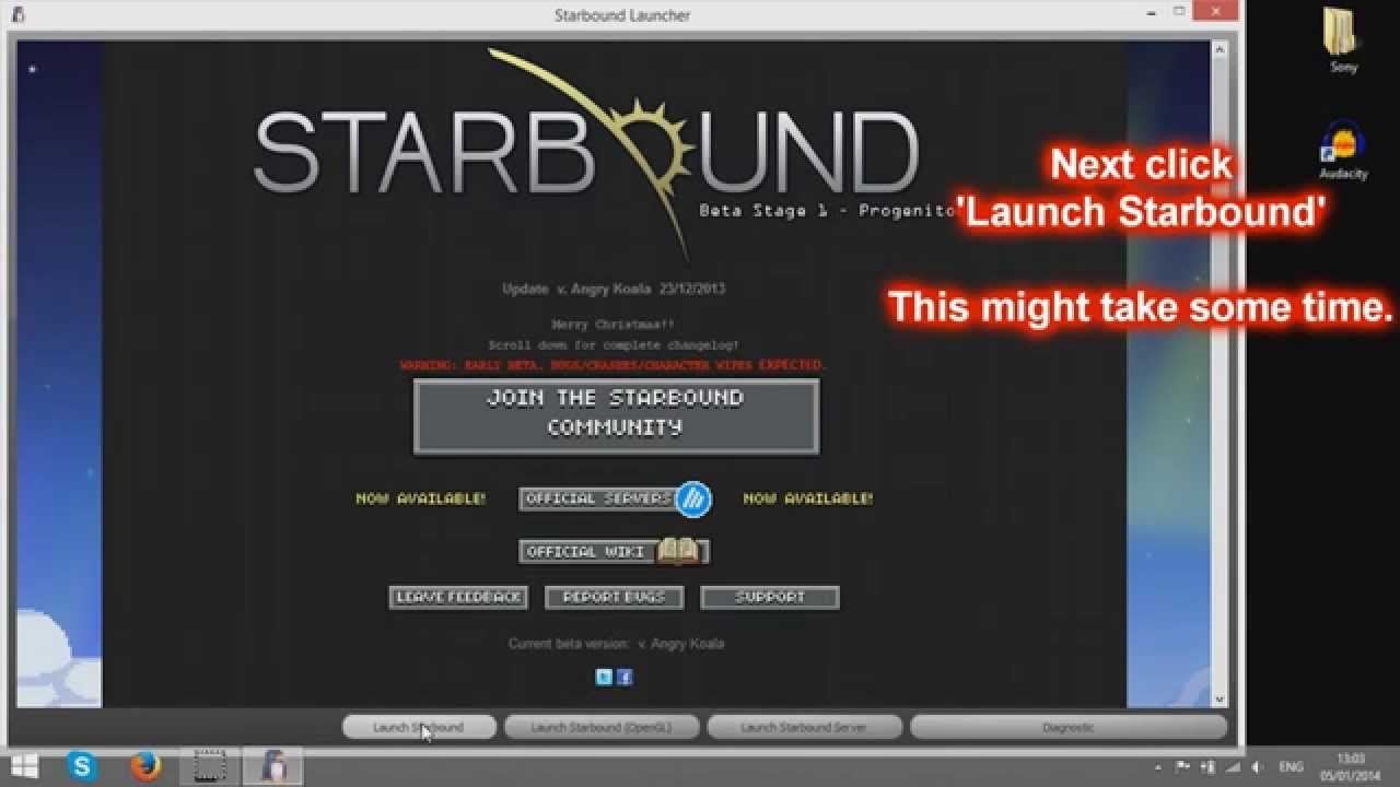 how to make a private starbound server