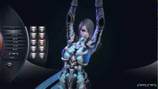 Queen's Blade Online: Character Creator | Shadow Walker