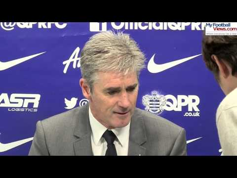 West Brom boss Alan Irvine interrupted by phone