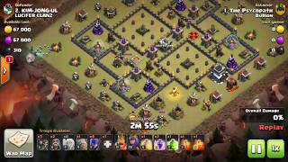 Xbow Island  Popular TH9 Base 3 Starred   Clash Of clans  Witchslap   3 Star Strategy 2.87 MB