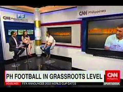 Chris Thomas on CNN Philippines' Sports Desk