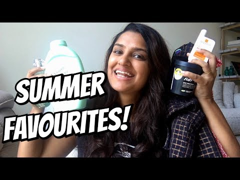 Summer Favourites and Essesntials ||  2018
