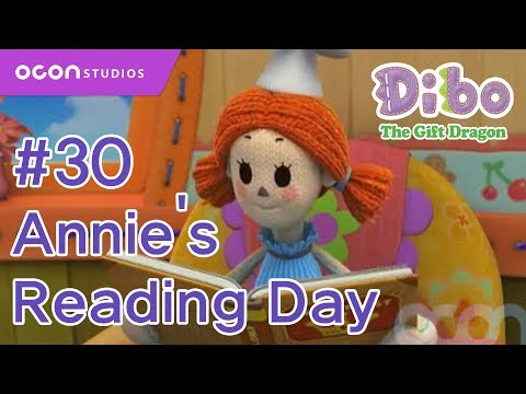 [ocon] Dibo The Gift Dragon  ep30 Annie's Reading Day(eng Dub) video