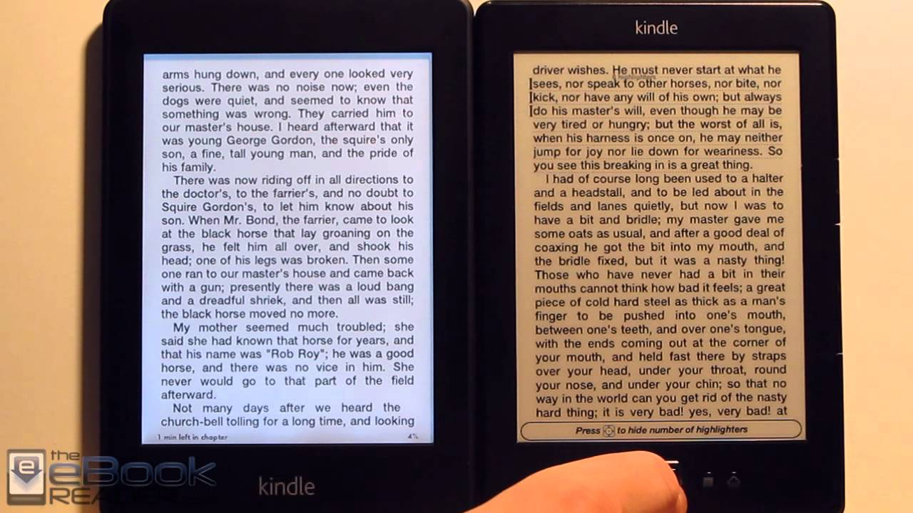 ebook layout for kindle hearth