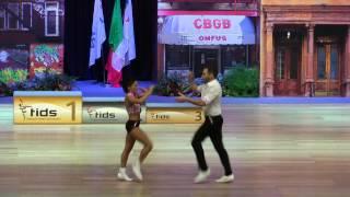Mélitine Poulios Burel & Kévin Garino - Europameisterschaft 2015