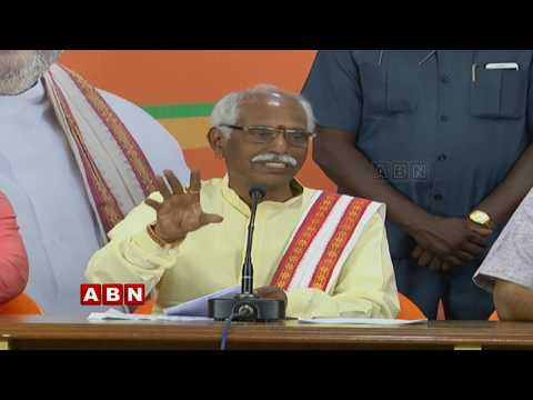 BJP MP Bandaru Dattatreya Holds Press Meet || ABN Telugu
