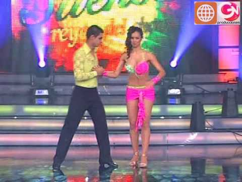 Baile Salsa: Maricielo Effio y Charles Ramírez (Reyes del Show PERU 05-12-09)