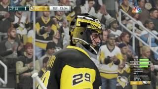 NHL 17 (PS4) - 2016-17 - Game 05 vs Sharks