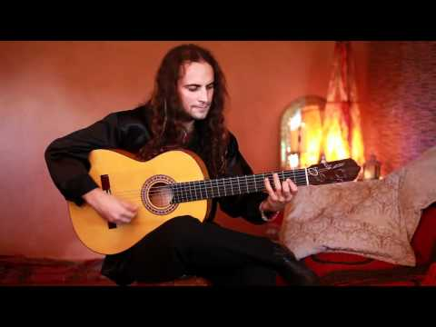 Amir John Haddad plays the Lester Devoe Flamenco Blanca Guitar