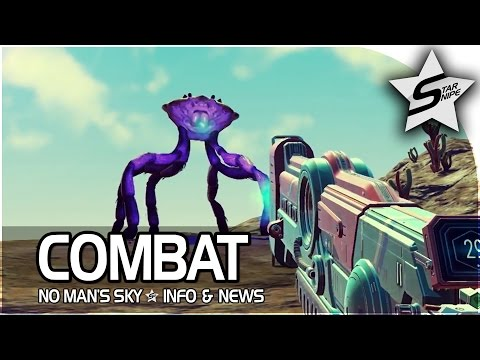 "No Man's Sky FIGHT Gameplay Trailer Broken Down - ""Weapons, Ships, & Combat!"""