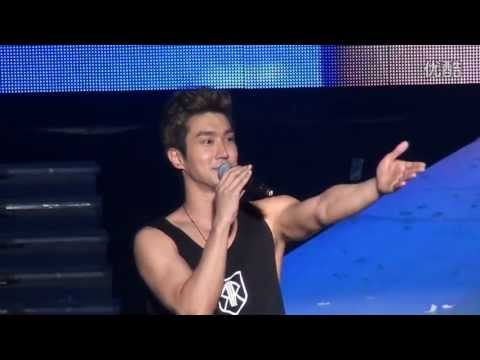 Siwon Focus 130302 SJM Shanghai Fan Party, Ending Talk [FanCam]