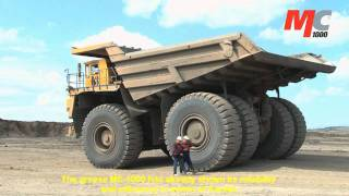 MC1000 application in 320t dumper