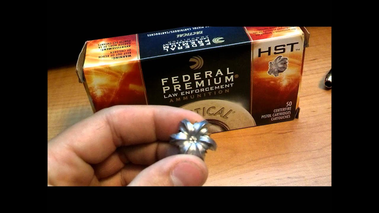 Federal HST .45 ACP 230gr (XDS) - YouTube