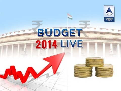 LIVE:Union Budget 2014