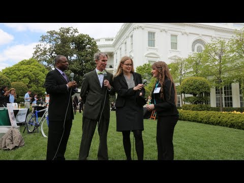 Live from the White House Science Fair with LeVar Burton and Bill Nye