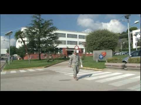 Exclusive access to NATO's new Naples HQ 08.10.12