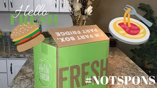 HELLO FRESH UNBOXING | NOT SPONSORED | FIRST IMPRESSION