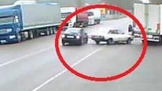 На трассе Киев-Чоп слепой на Шкоде «поймал» Москвич