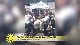 GW om nazisterna - agerar polisen rätt mot nazistiska partier som demonstrerar? - Nyhetsmorgon (TV4)