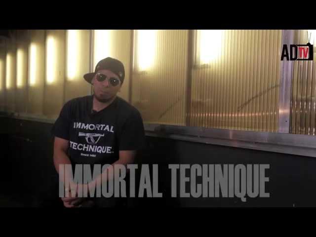 "Immortal Technique - ""Israeli and Palestinian Conflict"" (@AmaruDonTV)"