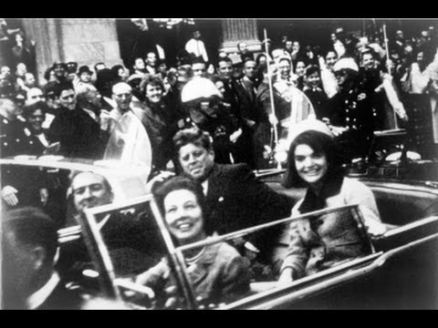 """President John F. Kennedy was assassinated on Nov. 22, 1963, struck by two bullets � one in the head, one in the neck � while riding in an open-topped limo through Dealey Plaza in Dallas...."