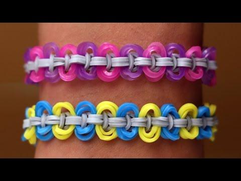 Rainbow Loom Nederlands - Circle Knot || Loom bands, rainbow loom, tutorial, how to