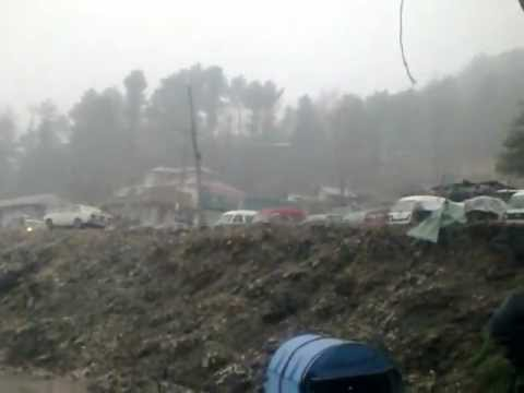Snowfall-2013, January, Khaigala, Rawalakot, Azad Kashmir.mp4