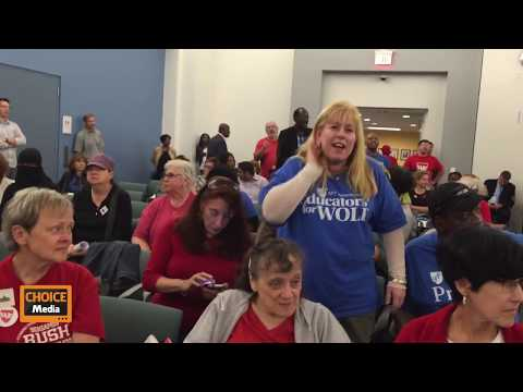 Teachers Union at the Philadelphia School Reform Commission - 10/22/2014