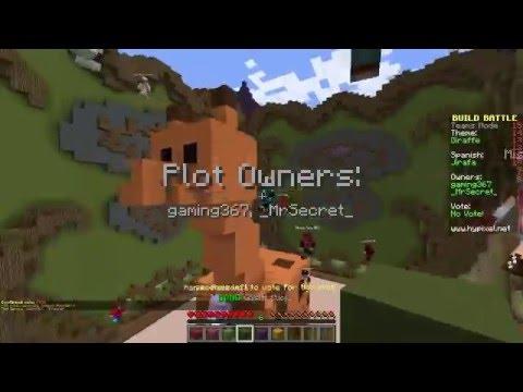 JIRAFA FELIZ (Build Battle Minecraft)