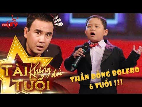 Thần đồng Bolero 6 tuổi Quốc Huy hát Tình Cha khiến Quyền Linh - Lê Lộc - Quang Bảo 'nổi da gà' 😍   giải mã kỳ tài