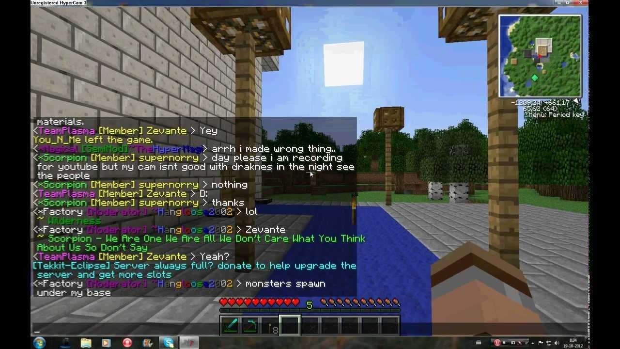 Tekkit Minecraft Servers - Minecraft