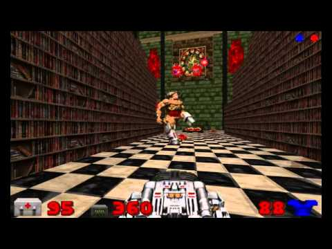 Doom 2 Hell Grounds Map 7 UV-Max in 19:37 by Heretic