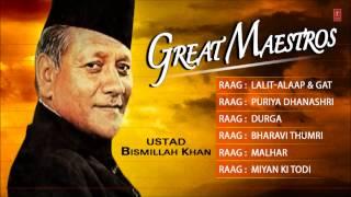 Great Maestros-Ustad Bismillah Khan (Full Song Jukebox) - T-Series Classical Instrumental
