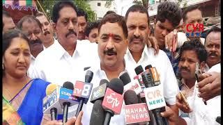 Minister Kalva Srinivasulu Lay Foundation Stone For Anna Canteen | Ananthapur | CVR NEWS
