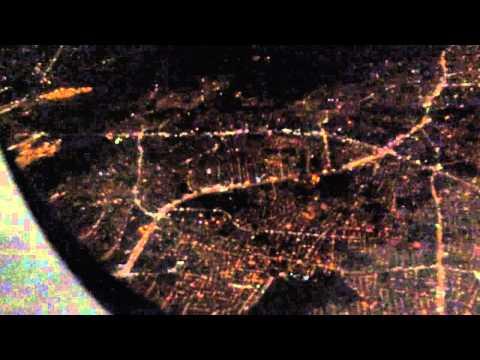Hyderabad night view,indigo airlines