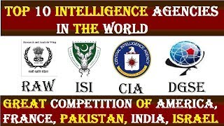 Top 10 Intelligence Agencies in the World 20172018