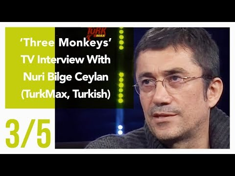Three Monkeys - TV Interview With Nuri Bilge Ceylan 3/5 (TurkMax, Turkish)
