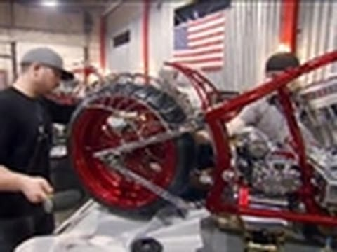Black Widow's Facelift | American Chopper