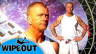 The coolest grandad ever ! 👴🏼| Funny Clip | Total Wipeout Official