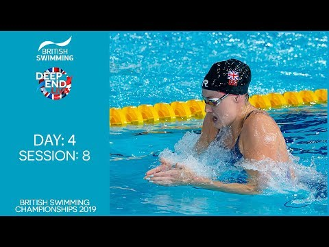 British Swimming Championships 2019 - Session 8