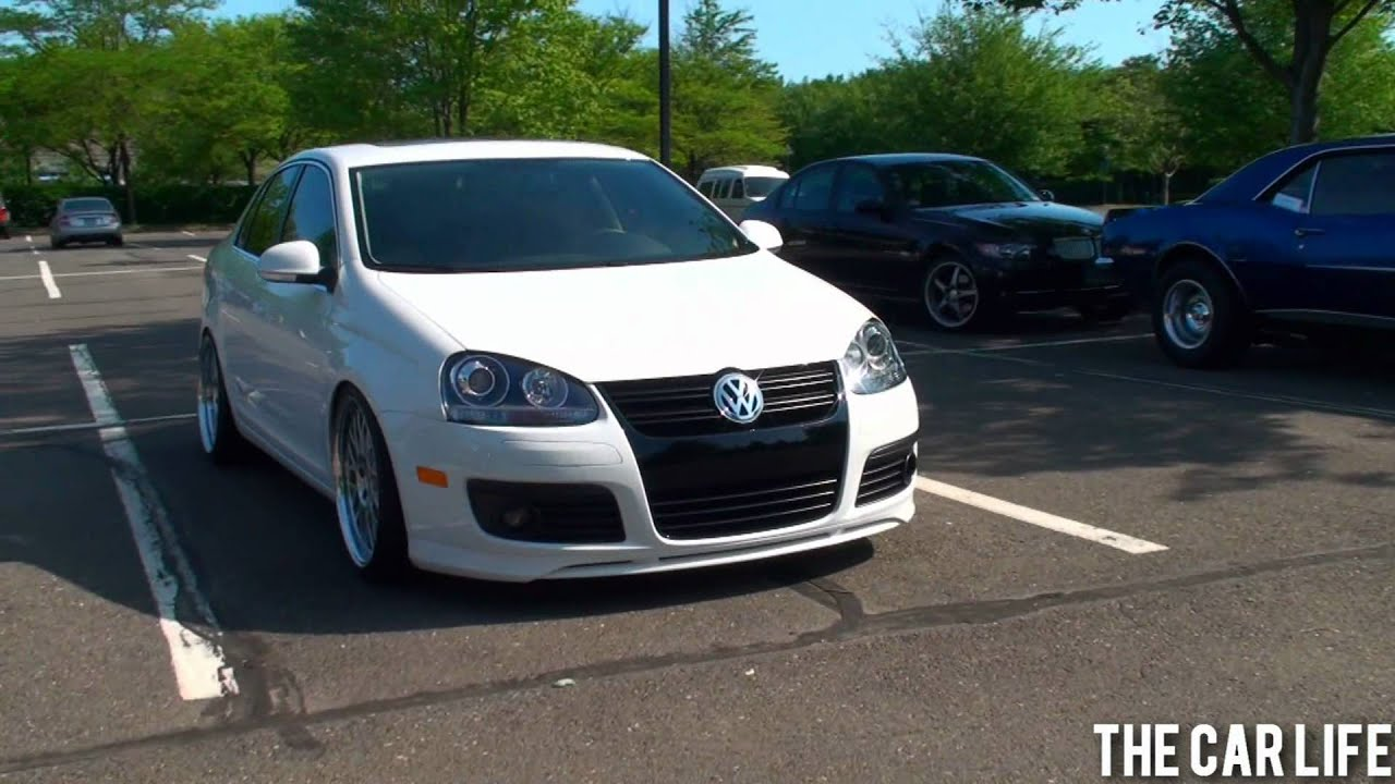 Volkswagen Jetta TDI Sitting Low - YouTube