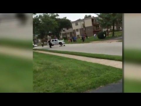 Eyewitness: Brown fell towards officer