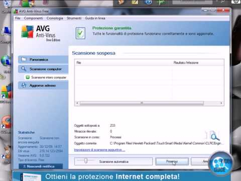 Scansione Computer AVG Free