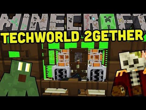 ENDERPERLEN GENERATOR - MC:Techworld 2Gether Ep.73 - auf gamiano.de