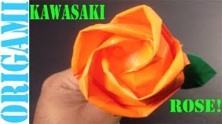 Beautiful Kawasaki Rose (valentine's Day): Daily Origami - 464 [tcgames Hd]