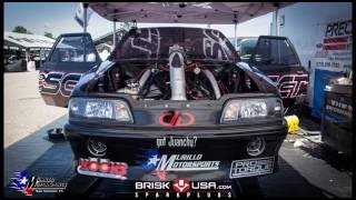 Mike Murillo and his 3,200 HP Precision Turbo Mustang Lafawnduh are back!