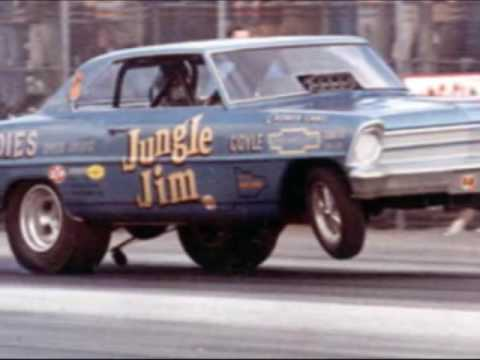 Jungle Jim and Jungle Pam - Drag Racing Legends Video