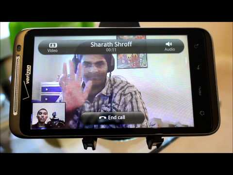 Skype for Android Video Calling on HTC Thunderbolt