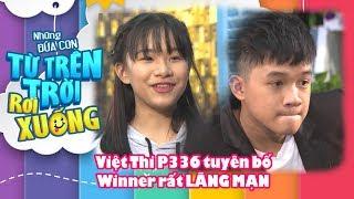 Việt Thi P336 tuyên bố Winner rất LÃNG MẠN và là BẠN TRAI của mình khi bị trai đẹp thả thính 😍